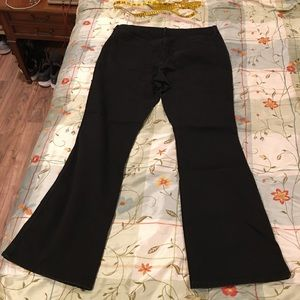 Old Navy Jeans - Old navy black micro flare jeans 14